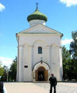 Cerkiew św. Spasa w Połocku - stan obecny.