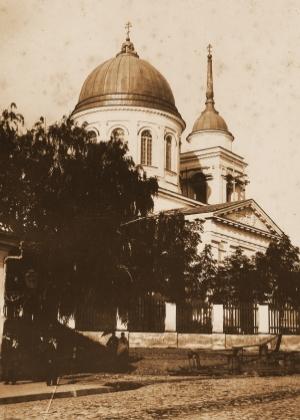 Sobór św. Mikołaja na fotografii z 1897 roku - album J. J. Sołowiejczyk