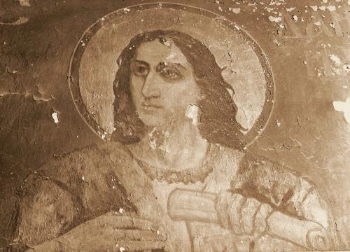 Św. prorok Daniel - fresk Michała Awiłowa (stan z 70. lat XX wieku)