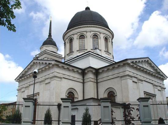 Katedra św. Mikołaja przed renowacją z lat 2006-2007