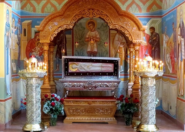 Na okres letni, relikwie do 21 września przebywają Żeńskim Monasterze Narodzenia Bogurodzicy w Zwierkach fot. Paweł Iwaniuk