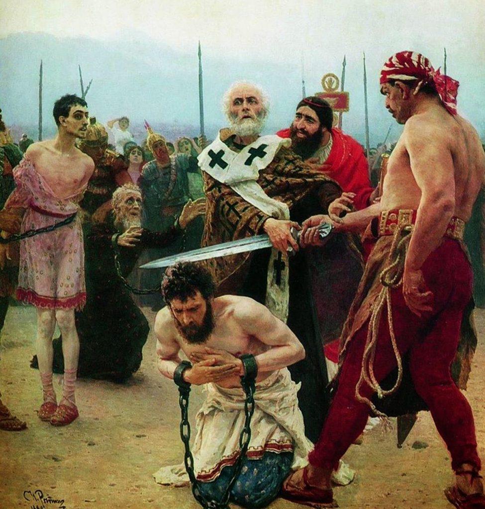 Święty Mikołaj ratuje niewinnie skazanego na śmierć