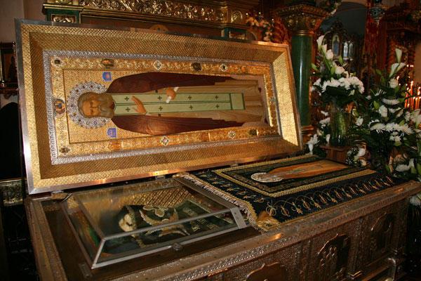 Relikwie świętego Serafima