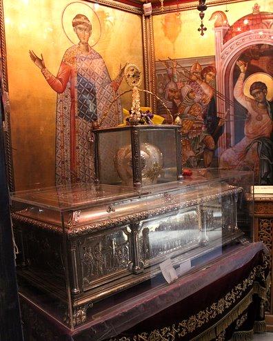 Relikwie św. Dymitra Sołuńskiego